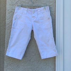Sanctuary White Peace Shorts Womens Size 26